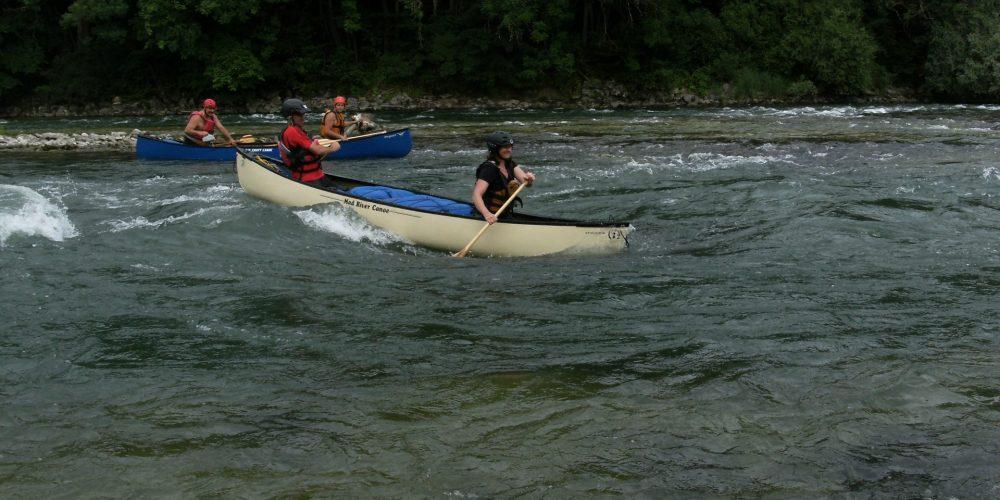 Kanadier Moving Water